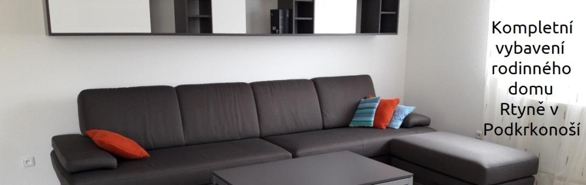 Obývací pokoj rodinného domu