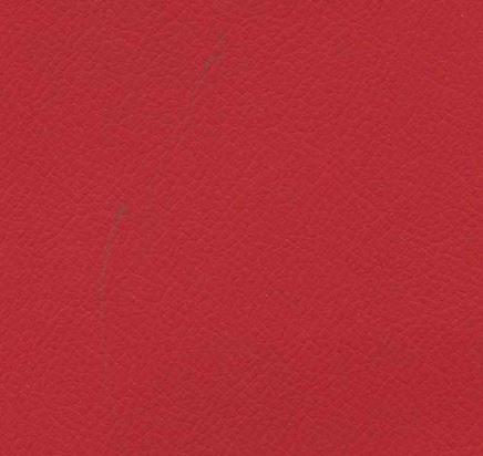 BL35 - imitace kůže Bloom červená