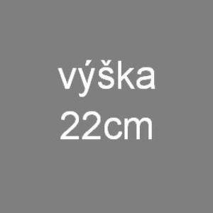 V22 - výška matrace 22 cm