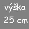 V25 - výška matrace 25 cm