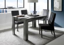 Jídelní stůl Dama-T-137 LGR šedý lesklý lak
