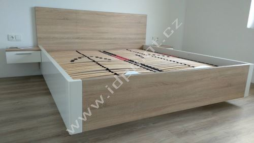 Manželská postel Optima-Levita více barevných variant