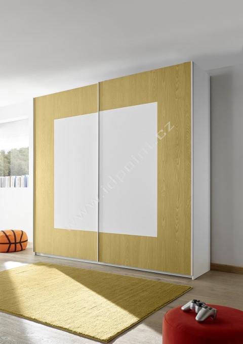 Šatní skříň s posuvnými dveřmi Enjoy-Quadro-243