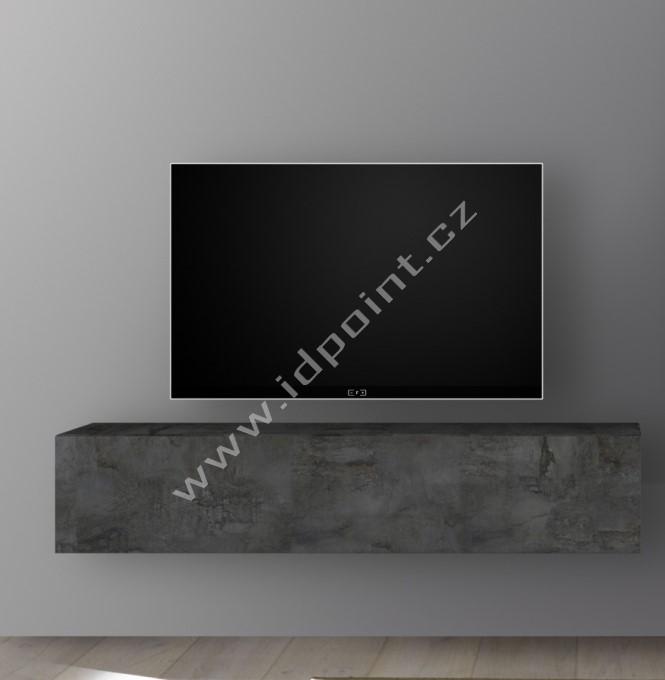 Závěsná skříňka výklop nebo sklop Infinity-C OXI oxidovaný kámen