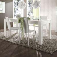 Jídelní stůl Amalfi-T-200 LBI bílý lesklý