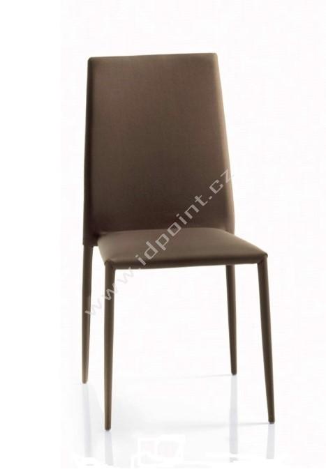 Kožená jídelní židle Optima-CU