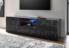 TV skříňka Prisma-TV2 GRSP šedývzor