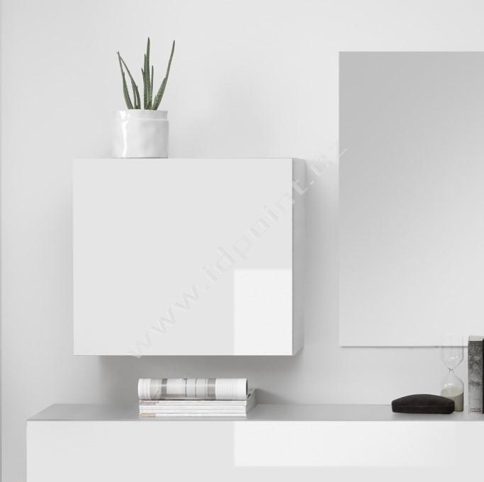 Závěsná skříňka Infinity-A LBI bílý lesklý lak