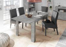 Rozkládací jídelní stůl Urbino-T-137 BET beton