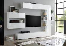 Obývací stěna Sorano-kompozice2 bílý lak