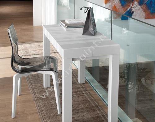Jídelní židle Gel-L s dřevěnou podnoží