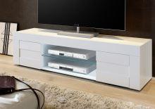 TV skříňka Easy-TV2 LBI LBI bílý lesklý lak