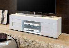 TV skříňka Easy-TV LBI LBI bílý lesklý lak