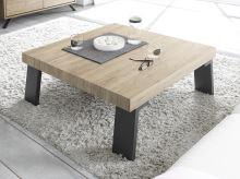 Konferenční stolek Palma-TC-86x86 nohy antracit, deska dub sherwood