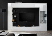Obývací stěna Sorano-kompozice3 bílý lak