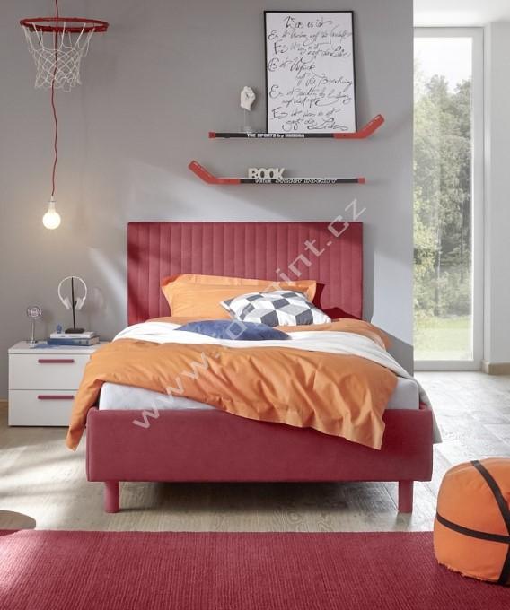Čalouněná postel Enjoy-Vertico-160x200