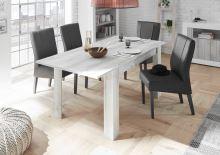 Rozkládací jídelní stůl Urbino-T-137 WPI bělená borovice