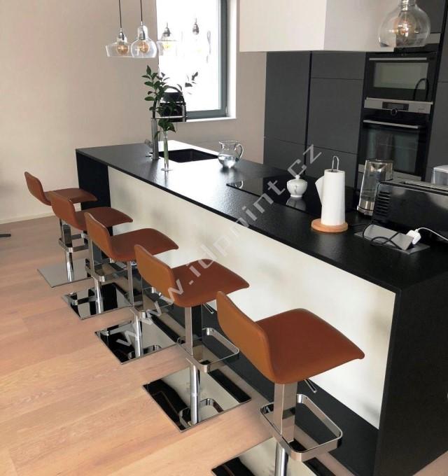 Otočná barová židle Sinte-SgQ s nastavitelnou výškou