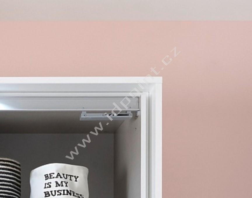 Dorazy dveří Hettich pro šatní skříně s posuvnými dveřmi