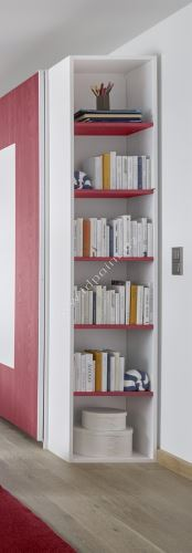 Knihovna s 5ti policemi Enjoy-BC5