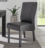 Jídelní židle Marmo antracit