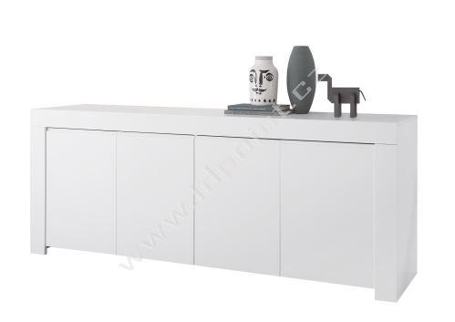 Komoda Firenze-LB4 LBM bílý matný lak